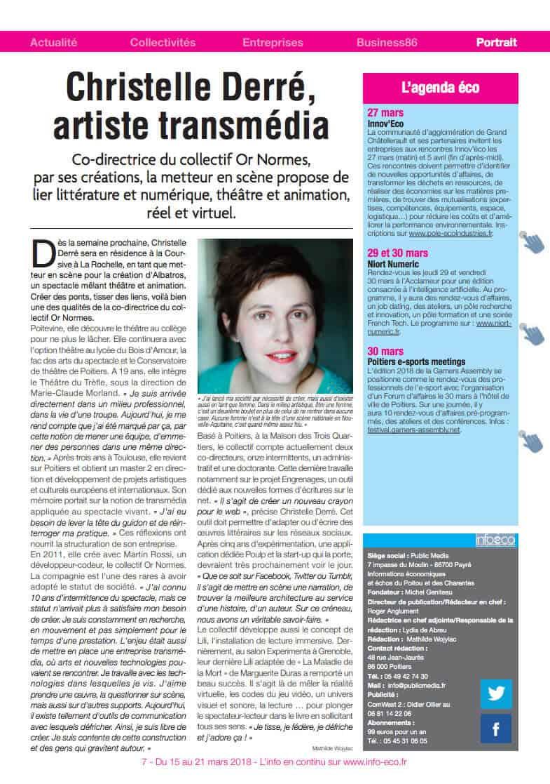 Christelle-Derré-Infos-Éco-2018