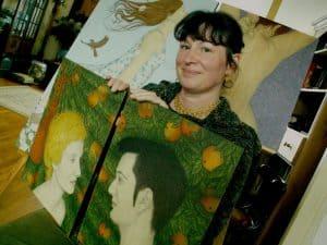Sharron Astbury - Petit, peintre